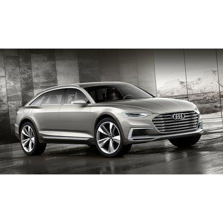 Универсал Audi prologue allroad станет лидером гибридов в Шанхае