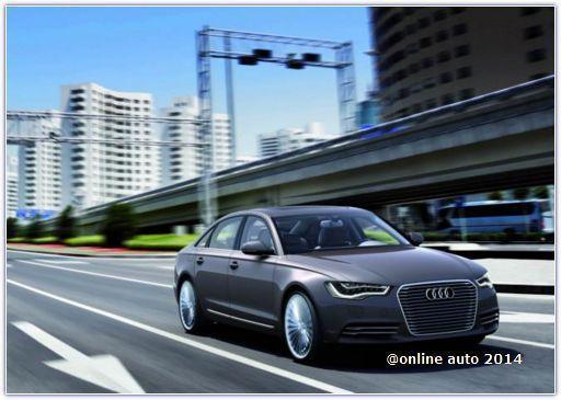 Компания Audi готовит к серии Audi A6 L e-tron