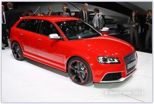 Премьерный показ Audi RS3 Sportback в Женеве 2011